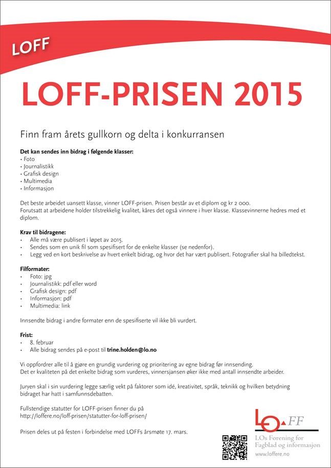 LOFF prisen 2015