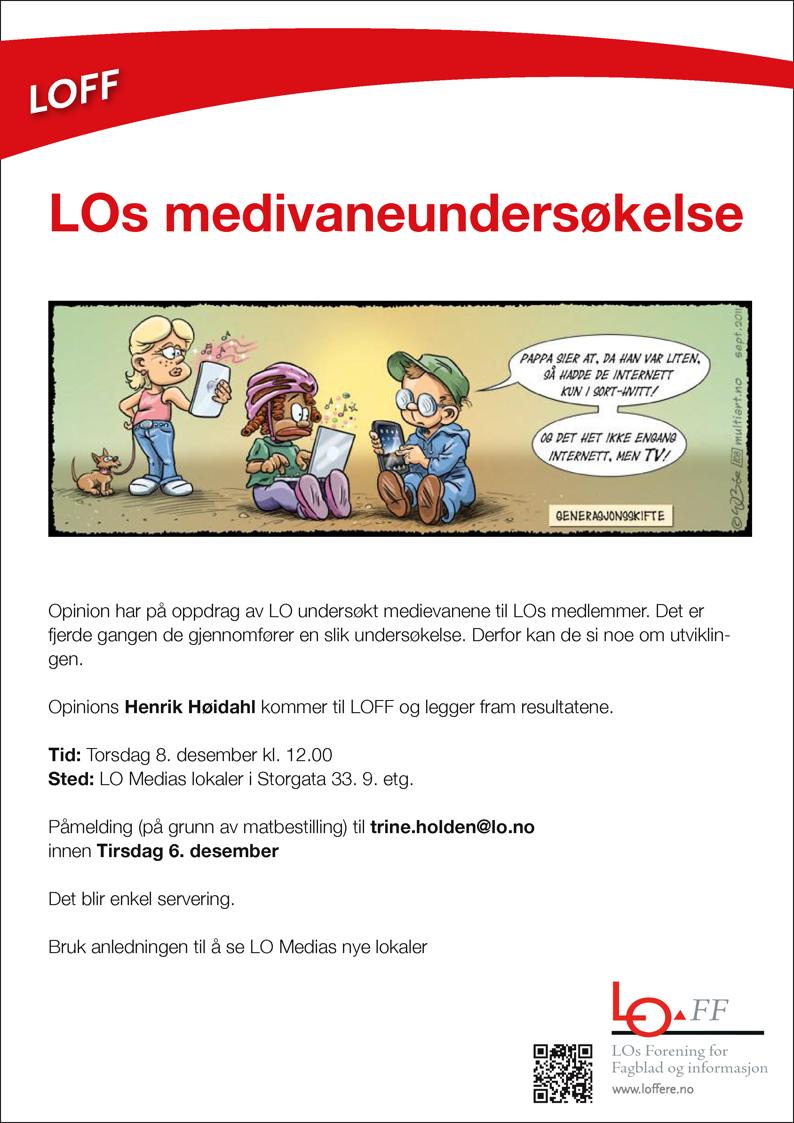 LOs medievaneundersøkelse